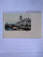 Irlanda Custom House Dublín Postcard Early Undivided Back - Dublin