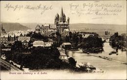 Cp Limburg An Der Lahn Hessen, Blick Zur Burg - Allemagne