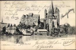 Cp Limburg An Der Lahn Hessen, Blick Zum Dom - Allemagne