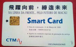 1MCU96A 70 Units Chip Card - Macau