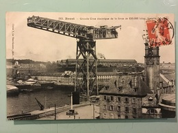 BREST — Grande Grue électrique De La Force De 150.000 Kilog. - Brest