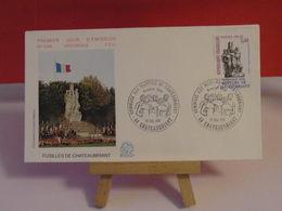 Fusillés De Châteaubriant - 44 Châteaubriant - 12.12.1981 FDC 1er Jour N°1249 - Coté 2,20€ - FDC
