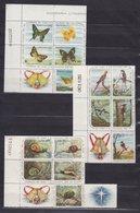 CUBA 1961, Mi 731-745, BIRDS, BUTTERFLIES, MNH ** - Cuba
