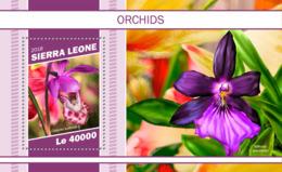 Sierra  Leone  2018  Orchids Flowers  S201901 - Sierra Leone (1961-...)