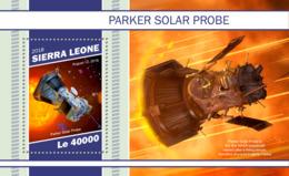Sierra  Leone  2018  Parker Solar Probe  ,  First NASA Spacecraft S201901 - Sierra Leone (1961-...)