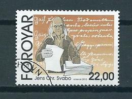 2010 Faroër Jens-Chr.Svabo 22Kr. Used/gebruikt/oblitere - Faeroër
