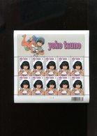 Belgie 2009 3922 F3922 Yoko Tsuno Full Sheet MNH Maasmechelen Plaatnummer 2 ++130€ RRR BD Comics Strips - Feuillets