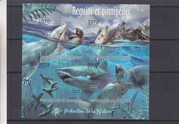Requins - Pinnepèdes - Burundi - COB BF 299 ** - MNH - NON Dentelé - Curiosité - 201 Au Lieu De 2012 ( 3000F ) - Burundi