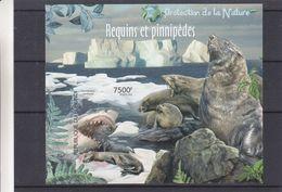 Requins - Pinnepèdes - Burundi - COB BF 300 ** - MNH - NON Dentelé - Curiosité - 201 Au Lieu De 2012 - Burundi
