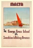 Travel Postcard Malta 1950 - Reproduction - Advertising