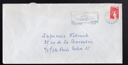 FRANCIA -  TOURS  -  FOIRES DE TOURS 1980 - Postmark Collection (Covers)