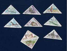 Congo Triangle Stamps - Congo - Brazzaville