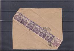 Hongrie - Lettre De 1921 - Oblit Budapest - Exp Vers Wien - Briefe U. Dokumente