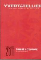 YBERT TELLER EUROPA EDICION 2011 VOLUMEN 1 DE ALBANIE A BULGARIE SEGUNDA MANO - Catalogues De Maisons De Vente