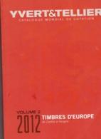YBERT TELLER EUROPA EDICION 2012 VOLUMEN 2 DE CARELIE A HUNGRIA SEGUNDA MANO - Catalogues De Maisons De Vente