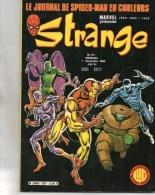 BD COMICS- STRANGE N° 129 DU 5 SEPTEMBRE 1980-- MARVEL  STAN LEE-  L' INTREPIDE DARDEVIL - Strange