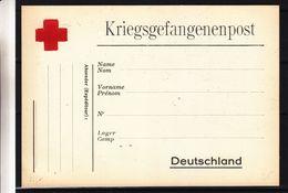 Croix Rouge - Allemagne - Carte Postale Prisonnier De Guerre - - Cruz Roja