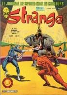 BD COMICS- STRANGE N° 127 DU 5 JUILLET 1980- MARVEL  STAN LEE-  L' INTREPIDE DARDEVIL - Strange