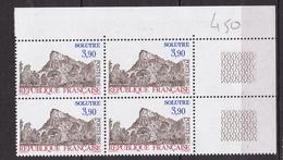 N° 2388 La Roche De Solutré:1 Bloc De 4 Timbres Neuf Impeccable - Unused Stamps