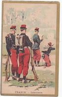 Chromo - Chocolat Delespaul Havez - France - Infanterie - Sonstige