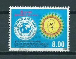 1990 Sri Lanka Aids Day Used/gebruikt/oblitere - Sri Lanka (Ceylon) (1948-...)