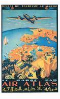 AVIONS AIR ATLAS PUB CPM TBE   AV290 - 1946-....: Modern Era