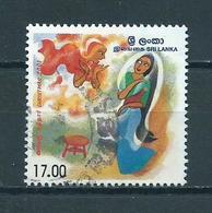 2001 Sri Lanka Kerst,christmas,noël Used/gebruikt/oblitere - Sri Lanka (Ceylon) (1948-...)