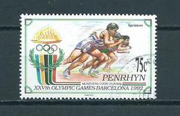 1992 Penrhyn Olympic Games Barcelona Used/gebruikt/oblitere - Penrhyn