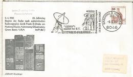ALEMANIA GARCHING ESPACIO SPACE OZMA  SATELITE RADIO ASTRONOMY - Cartas