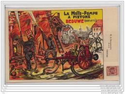 """Document Rare 1925 Des Usines Beduwé Liège """" Matériel D'incendie """" Affr. Préo    >>> - Feuerwehr"""