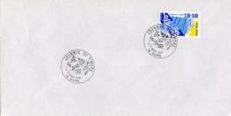 Enveloppe Premier Jour - Dieppe - Journee Du Timbre - 17 Mars 1990 - Autres