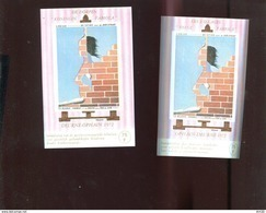 Belgie Erinno E123 E124 OCB 5€ RR Painting Labisse Sfinx OCB 4€ - Commemorative Labels
