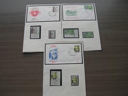 "BELG.1978 1881 1882 & 1883  FDC (Brus/Brux) & Serie ** & Serie MNH 1°jour/dag ""Philanthropique /Filantropische : Tubercu - FDC"