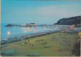 Isle Of Wight - Cpm / Shanklin Esplanade And Pier By Night. - Angleterre