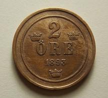 Sweden 2 Ore 1893 - Schweden