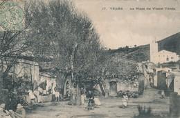 CPA - Afrique - Algérie - Ténès - La Place Du Vieux Ténès - Algérie
