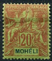Mohéli, N° 06* Y Et T, 6 - Unused Stamps