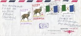 Ethiopia 2002 Woklkite Afar Flag Bushbuck Cover - Etiopia
