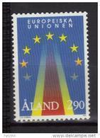 Aland 1995 N°99 Neuf  Admission à LUnion Européenne - Aland