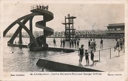 CPA - Afrique - Maroc - Casablanca - Centre Balnéaire Municipal Georges Orthlieb - Casablanca