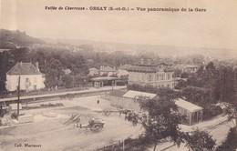 CPA - France - (91) Essonne - Orsay - Vue Panoramique De La Gare - Orsay