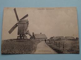 GHELUWE Gheluwemolen ( Moulin / Molen / Mill ) Uitg. R. Ghesquiere : Anno 1918 FELDPOST ( Zie/voir Photo ) ! - Wervik