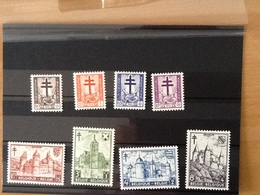 Nr.868/875** Antiteringzegels 1951. - Belgique