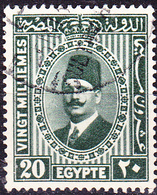 Ägypten - König Fuad I. (Mi.Nr.: 130 B) 1929 - Gest Used Obl. - Used Stamps