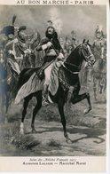 750. CPA ILLUSTRATEUR PUBLICITE AU BON MARCHE. SALON DES ARTISTES 1913. ALPHONSE LALAUZE. MARECHAL MURAT - Werbepostkarten