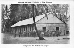 ¤¤  -   ILES SALOMON   -  TANGARARE   -  Le Dortoir Des Garçons     -  ¤¤ - Salomon