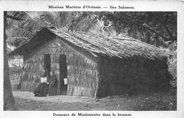 ¤¤  -   ILES SALOMON   -   Demeure De Missionnaire Dans La Brousse     -  ¤¤ - Solomoneilanden