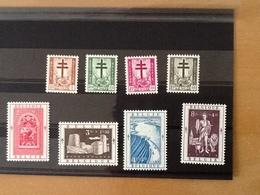 Nr.900/907** Antiteringzegels 1952. - Belgique