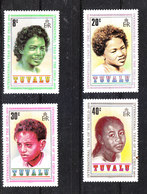 Tuvalu  -  1979. Visi Di Ragazzi Di Varie Etnie. Faces Of Boys Of Various Ethnic Groups. MNH Complete Series - Infanzia & Giovinezza