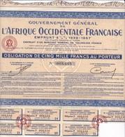 Alb 2L Afrique Occidentale Française 1932N=8 - Aandelen